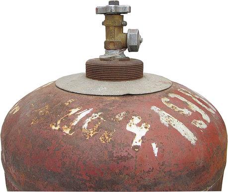 БАЛЛОН пропановый (газовый) 50л Б/У тара, фото 2