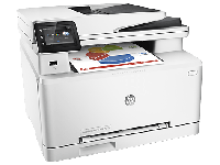 МФУ HP Color LaserJet Pro MFP M277n (A4) Printer/Scanner/Copier/Fax /ADF, 600 dpi , 800 MHz, 18 ppm, 256 Mb, tray 150 pages, USB+Ethernet, ePrint,