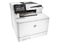 МФУ HP Color LaserJet Pro MFP M477fnw (A4) Printer/Scanner/Copier/Fax/ADF, 27 ppm, 600 dpi, 1.2 GHz, 256 Mb, tray 50 + 250 pages, USB, Ethernet, WiFi,