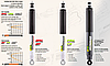 Toyota Hilux 2015- амортизаторы задние усиленные - IRONMAN 4X4 Foam Cell Pro, фото 5