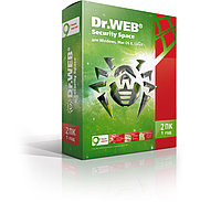 Dr.Web Security Space, 2 года, 2 ПК