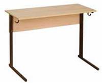 Стол ученический двухместный нерегулируемый (р. гр. 4, 5, 6)