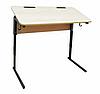 Стол ученический двухместный, регулируемый по высоте (р.гр. №3-6) и наклону столешницы от 0 до 24 градусов