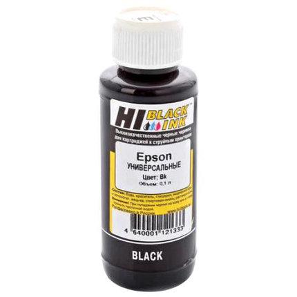 """Чернила EPSON универсальные """"Hi-black"""", черный, 100 мл, совместимые, фото 2"""