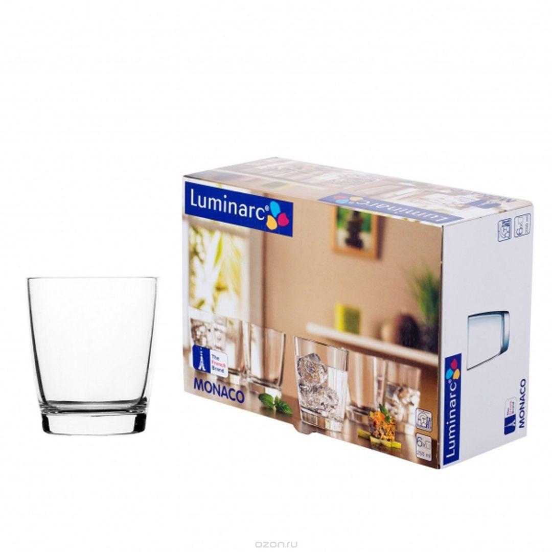 Набор  низких стаканов Luminarc Монако (250 мл) – 6 шт