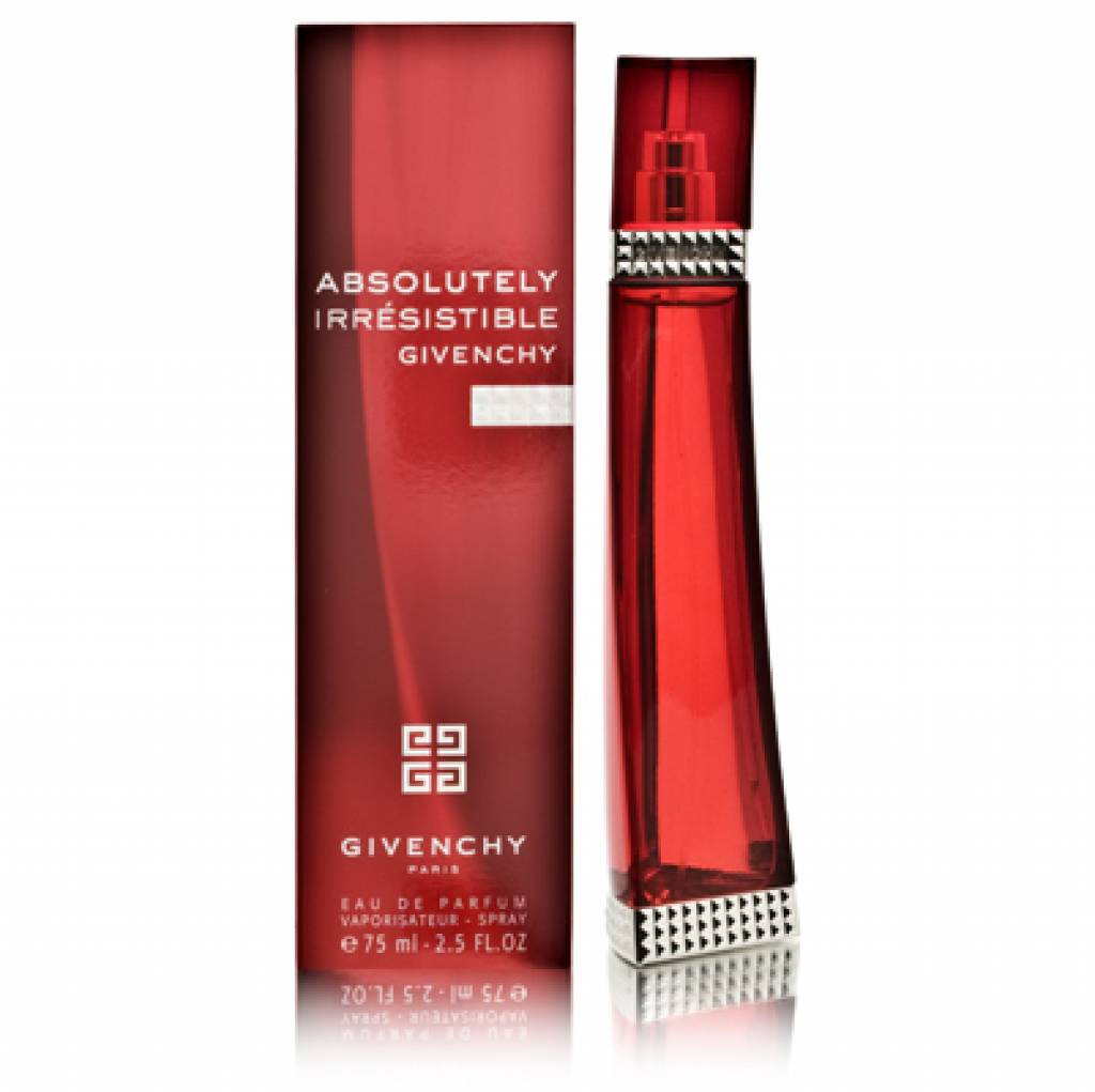 """Givenchy """"Absolutely Irresistible for women"""" 75 ml"""
