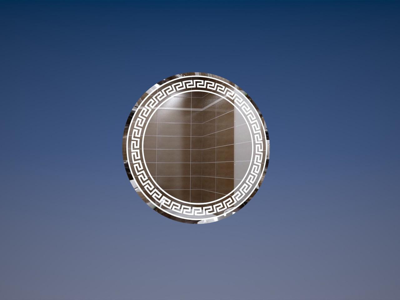 Зеркало круглое d-50см. Версаче