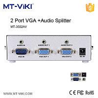 Разветвитель VGA на 2 выхода видео и аудио MT-350AV  350MHz