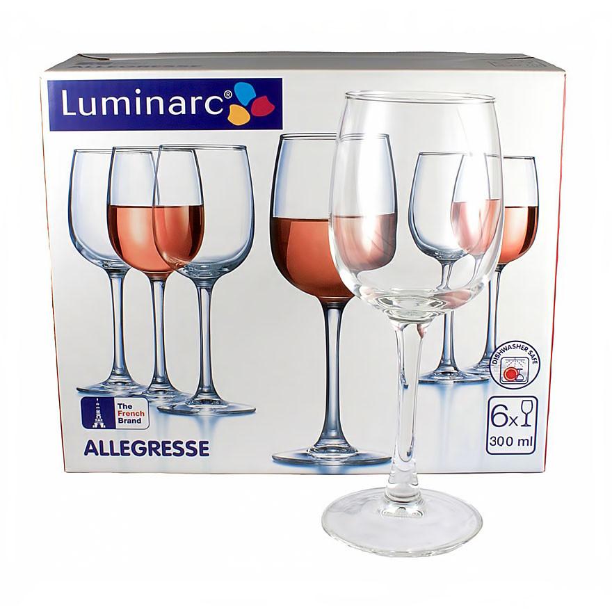 Набор Luminarc Allegresse из 6 бокалов (300 мл)
