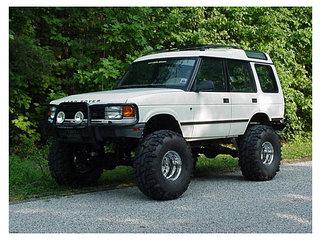 Усиленная подвеска Land Rover Discovery I 89-98