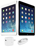Apple iPad Air 16GB, Wi-Fi, 9.7in - Silver (MPN: ME910LL/B)