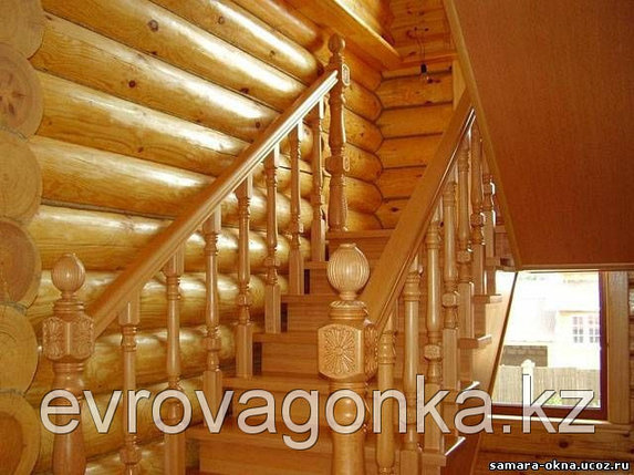 Ступени лестниц лиственница 40х300х1000, фото 2