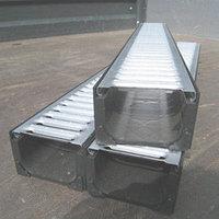 Канал дренажный полиэтиленовый ПЭ80 ПЭ100 ПВХ и железобетонный стальной желоба для канализации