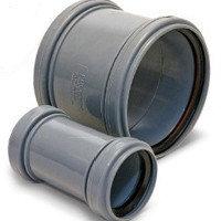 Патрубок-муфта 15 - 1420мм полиэтиленовый стальной чугунный пластиковый