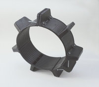Опорно-направляющее кольцо ОНК от ду 50 до 1420мм для трубы - сталь и ПЭ