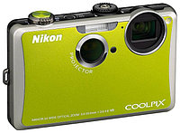 "Nikon Coolpix S1100pj 14.1Mpx, 5x optical zoom,Touch Screen, HD Movie,3.0"" LCD, Built-in Projector"