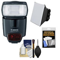 Canon Flash Speedlite Electronic 430EX II (EOS Accessories) with Soft Case