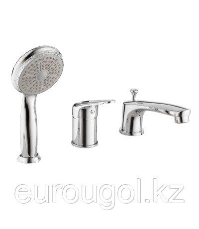 Смеситель для ванны на три отверстия Lemark Luna L4145C