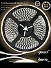 Светодиодная лента Gauss 3528/120-SMD 9.6W 12V DC теплый белый IP66 (блистер 5м)