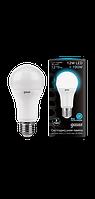 Светодиодная лампа общего назначения Gauss LED E27 12W 4100K (холодный белый), фото 1