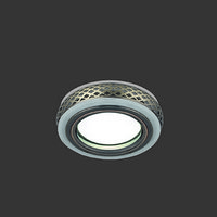 Светильник Gauss Backlight BL082 Кругл. Бронза/Белый, Gu5.3, 3W, LED 3000K