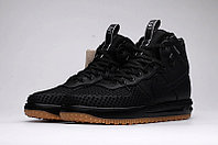 Зимние кроссовки Nike Lunar Force 1 Duckboot Black (40-47)