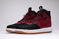 Зимние кроссовки Nike Lunar Force 1 Duckboot Red Black White (40-47), фото 1