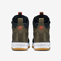 Зимние кроссовки Nike Lunar Force 1 Duckboot Dark Loden/Bright Crimson (40-47), фото 3