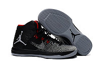 "Кроссовки Air Jordan XXXI (31) ""Black Grey Red"" (40-46)"