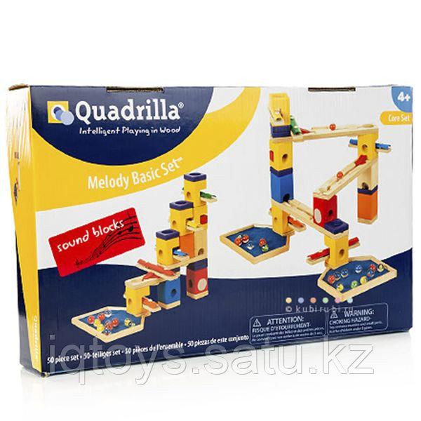 Деревянный конструктор 800110 Quadrilla Melody Basic Set