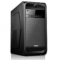 "Корпус для компьютера ""Кейс QMAX A34B: Motherboard support:Full ATX/Micro ATX/Flex ATX,2 x USB+Audio,Black"""