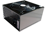 "Блок питания для ПК ""HuntKey APFC-600 600W ATX  P4 +24 pin, SATA *4,6+2Pin*2,Molex(4Pin)*8,Black,12sm Fan,Box"""