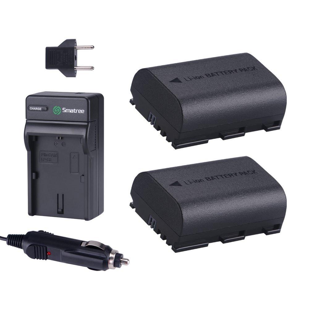 Smatree® Комплект аккумуляторов LP-E6