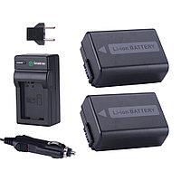 Smatree® Комплект аккумуляторов NP-FW50, фото 1