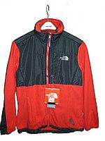 Флисовая куртка polartec женская красно-черная