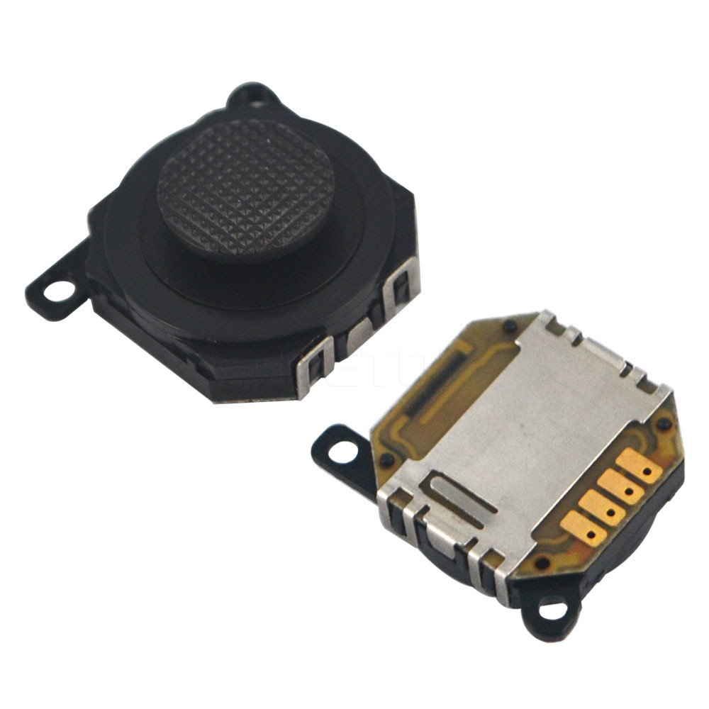 Аналоговый джойстик PSP 1000 Fat (механизм и кнопка) черный