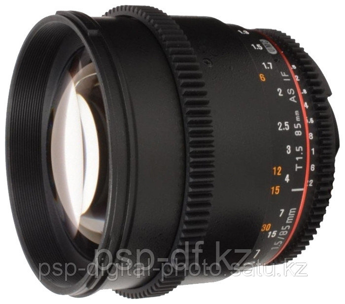 Samyang 85mm T1.5 AS IF UMC VDSLR Canon EF - PSP DIgital Photo+ в Алматы