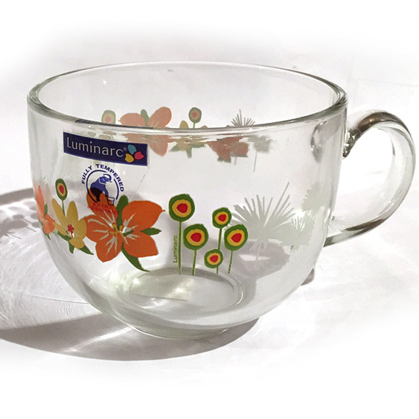 Бульонница Luminarc Jumbo Pop Flowers Orange L2330