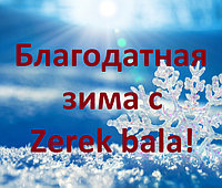 "Акция ""Благодатная зима с Zerek bala"""