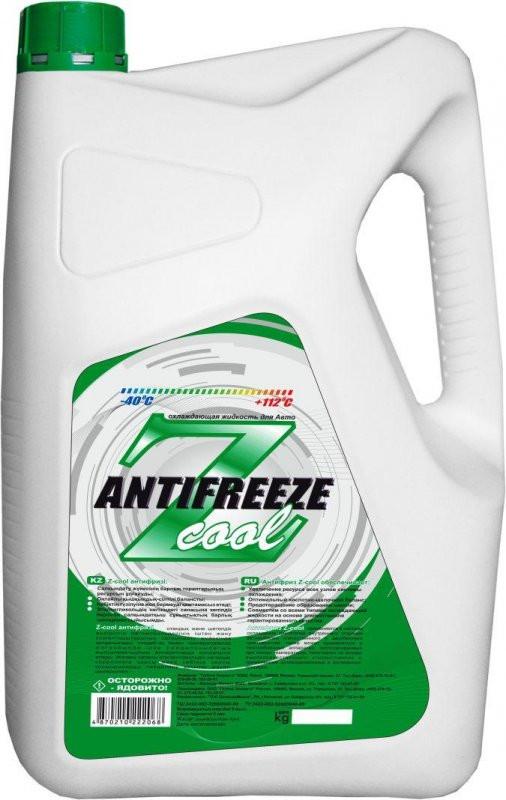 Антифриз зелёный Z-Cool 4,5кг.