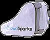 Сумка-чехол для коньков Croud Sparks, белая