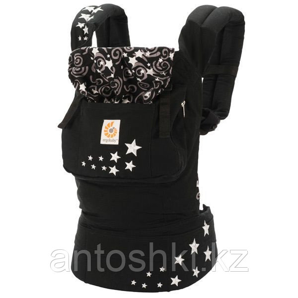 Эрго-рюкзак ErgoBaby Carrier Organic Night Sky - Интернет-магазин «Антошка» в Алматы