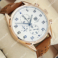 Часы мужские TAG Heuer Carrera 1887 SpaceX Quartz Gold/White 2136