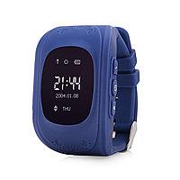 GPS часы Q50, Wonlex, OLED, синие, фото 1