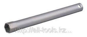 Ключ свечной СИБИН с резиновой втулкой, 21х260мм