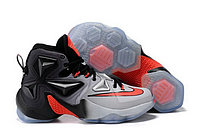 Кроссовки Nike LeBron XIII (13) Black Grey Infrared (40-46), фото 1