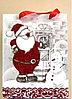 """Подарочный пакет """"Дед мороз и снеговик"""""""