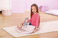 Кроватка-качалка музыкальная для куклы, фото 1