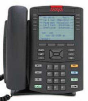 Avaya (Nortel) IP Phone 1230 Charcoal with Icon Keys with Power Supply