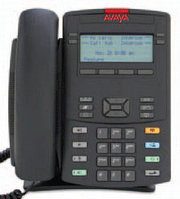 Avaya (Nortel) IP Phone 1220 Charcoal with Icon Keys without Power Supply